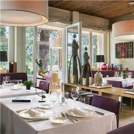 a cozy interior for an exclusive dining experience